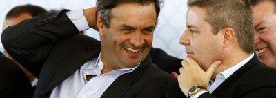 Anastasia tenta censurar vídeo que o liga a Aécio Neves